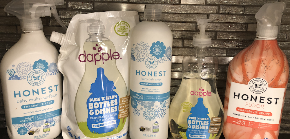 Eco & Baby Friendly Cleaning Products!